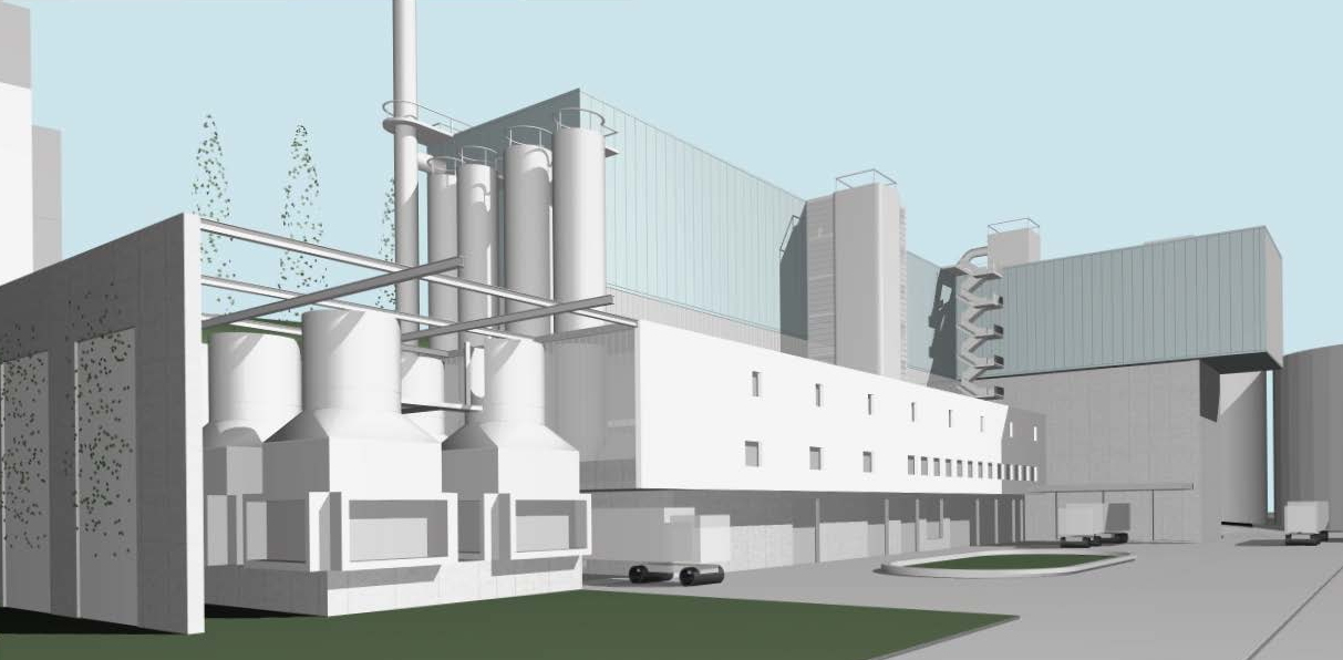 UVB und UBB Holzheizkraftwerk (HKW) Aarberg